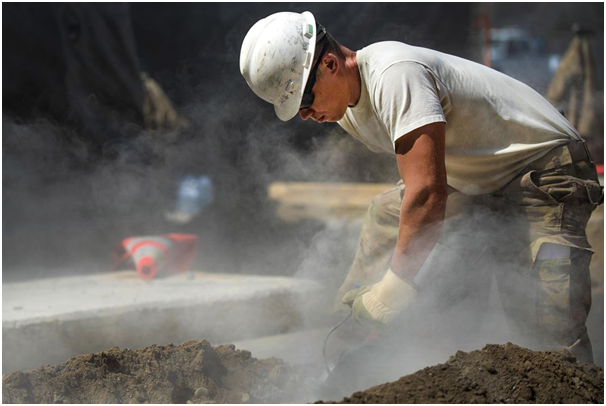 How to manage construction site dust